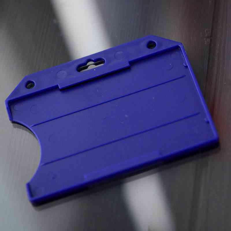 Sininen Perinteinen ID-kortin pidike yhdelle kortille